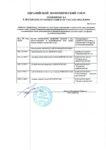Приложение 1 к декларации о соответствии ТР ТС 010/2011 на Оборудование химическое, нефтегазоперерабатывающее : выравниватель потока, распределитель жидкостного потока, устройство коалесцирующее, каплеотбойник сетчатый вертикальный, насадка пластинчатая