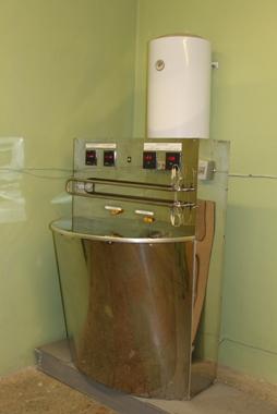 Учебная установка по изучению процесса теплообмена в аппаратах типа «труба в трубе»