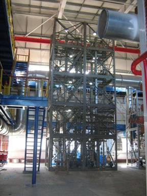 Пилотная установка ректификации растворителя для производства СКЭПТ