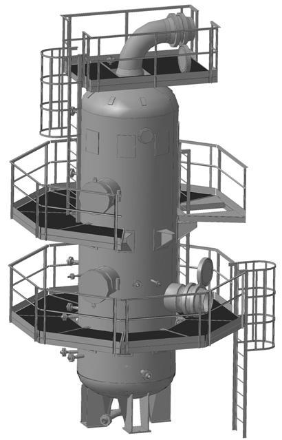 Блок фильтр-сепаратора ФС-1