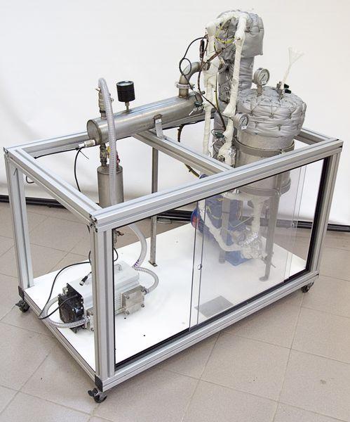 Экспериментальная первапорационная установка