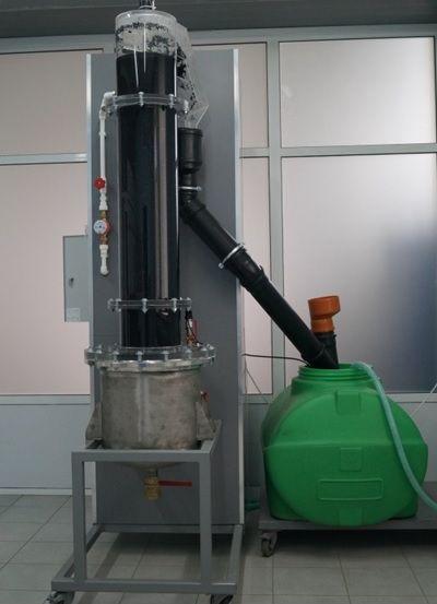 Экспериментальная установка для исследования гидродинамики процессов экстрагирования (диффузии) из твердых дисперсий